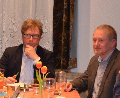 Dirk Adams und Reinhard Hotop /Bild: Karen Thimel