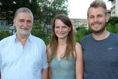 Ulrich Töpfer, Katharina Schmidt und Tobias Lemme