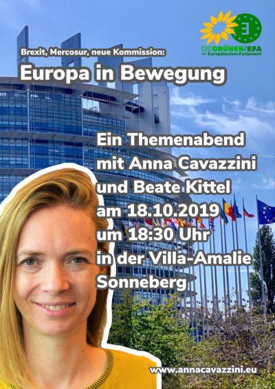 Anna Cavazzini für Sonneberg